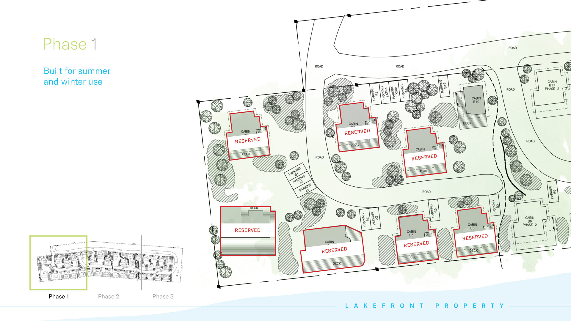 Kapasiwin Bungalows - Phase 1 planned construction 2021