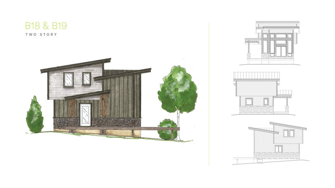 Kapasiwin Bungalows - Two Story Design for B18 & B19