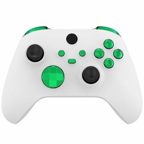 Xbox Series S/X Controller Button Set ''Chrome Green''