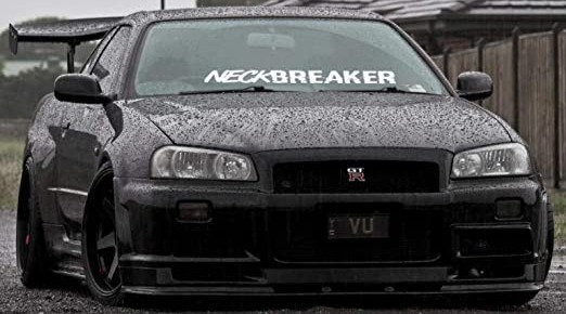 Neck Breaker Stickers