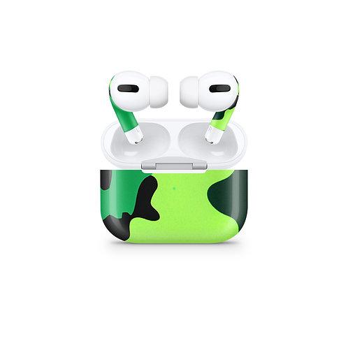 Apple Airpods Pro Skin ''Tropical Camo''