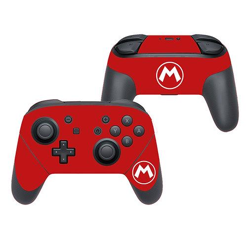 Nintendo Switch Pro Controller Skin ''Mario''