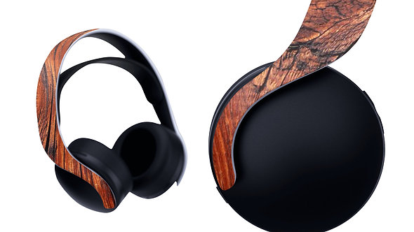 Ps5 Pulse 3d Skin ''Wood''