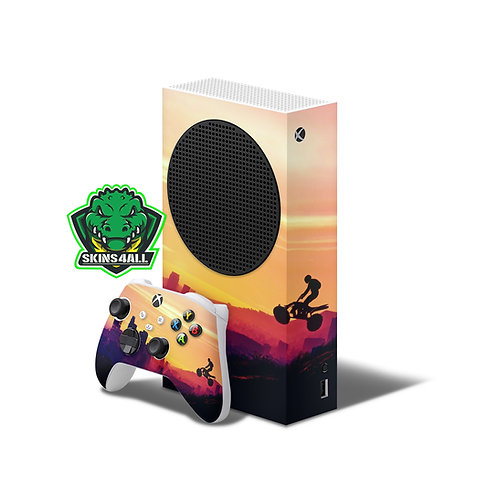 Xbox Series S Skin ''Freeride''