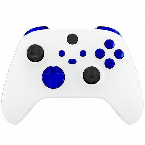 Xbox Series S/X Controller Button Set ''Chrome Blue''