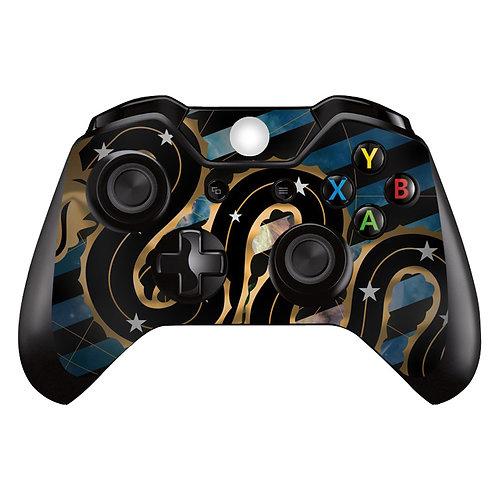 Xbox One Controller Skin ''Neroazzuri''