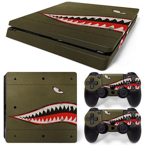 Playstation 4 Slim Skin ''Strike''