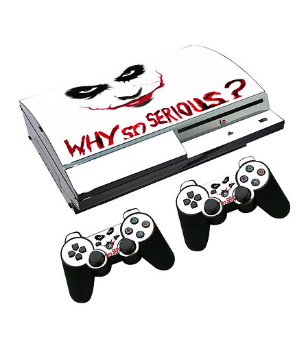 Playstation 3 Skin ''Why So Serious?''