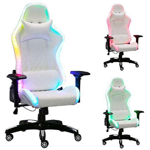 RGB Gaming Stuhl ''White Glow''