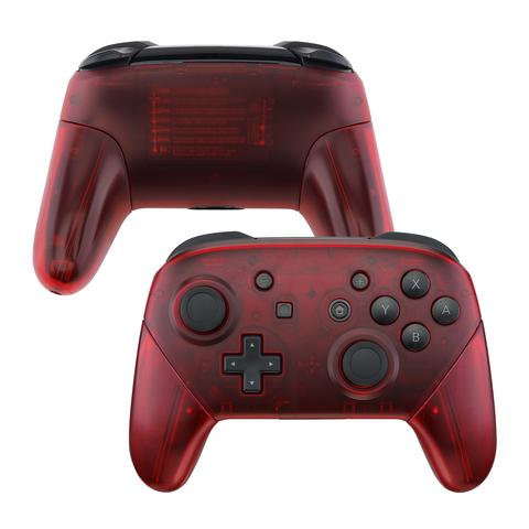 Switch pro Controller Shell ''Red Light''