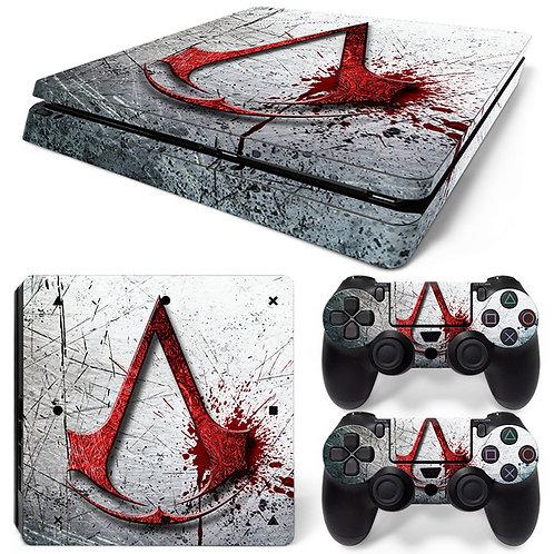 Playstation 4 Slim Skin ''Assassin''