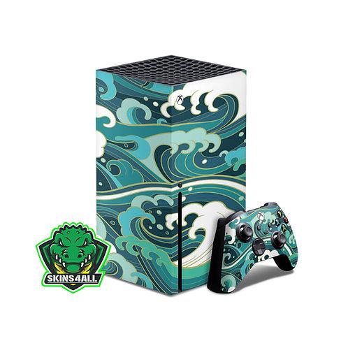 Xbox Series X Skin ''Waves''