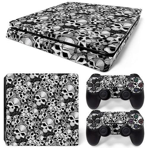 Playstation 4 Slim Skin ''Skulls''