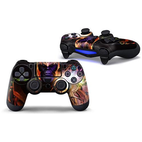 Playstation 4 Controller Skin ''Thanos''