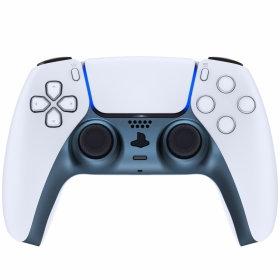 Playstation 5 Controller Frame ''Titanium Steel''