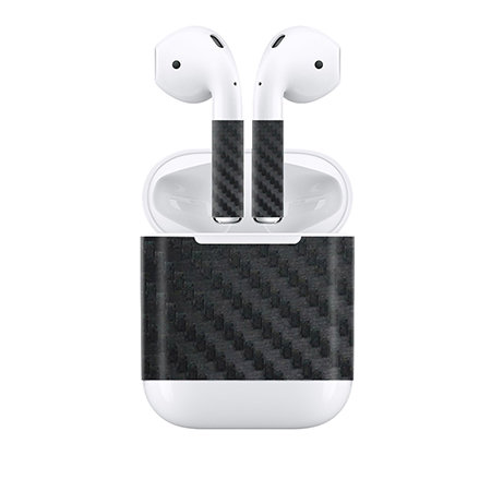 Apple Airpods Skin ''Carbon''