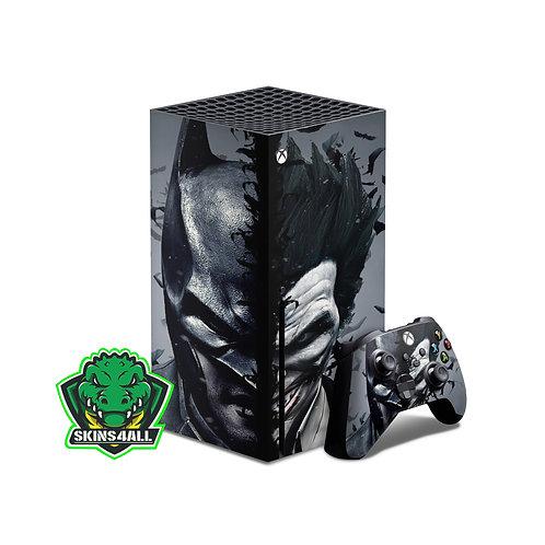 Xbox Series X Skin ''Enemies''