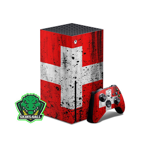 Xbox Series X Skin ''Swiss''