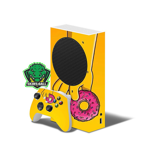 Xbox Series S Skin ''Donuts''