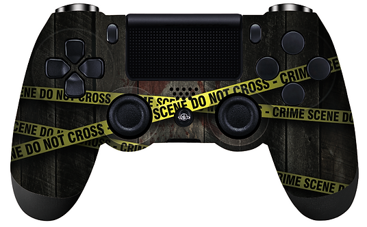 Ps4 Controller ''Crime Scene''