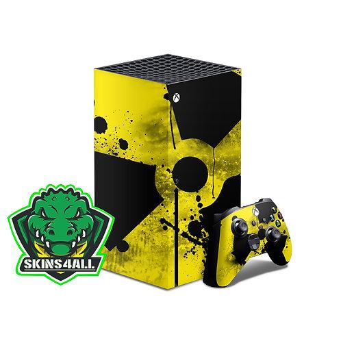 Xbox Series X Skin ''Radioactive''