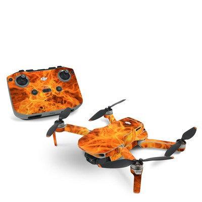 Dji Drone Skin Set ''Flames''