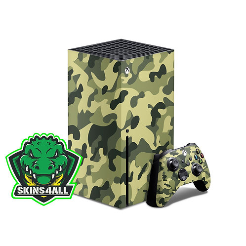 Xbox Series X Skin ''Jungle''