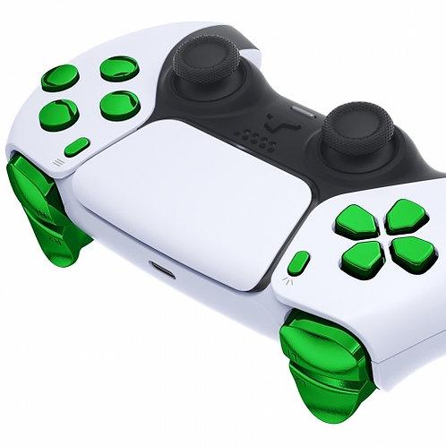 Ps5 Controller Knöpfe Set ''Chrom Green''