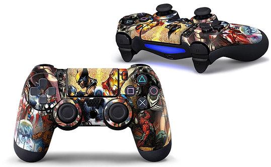 Playstation 4 Controller Skin ''Heroes''