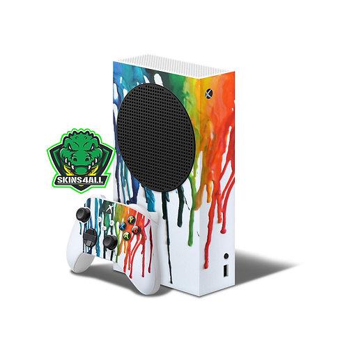 Xbox Series S Skin ''Drip''