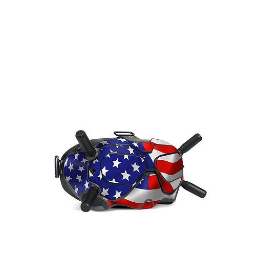 Dji FPV Goggles V2 Skin ''USA''