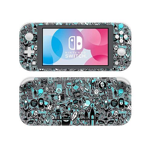 Nintendo Switch Lite Skin ''Hazard''