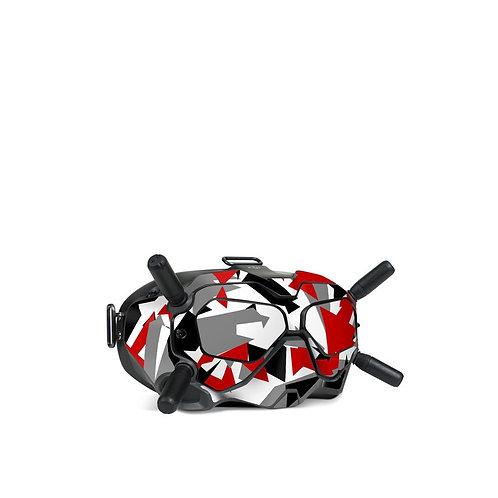 Dji FPV Goggles V2 Skin ''Red Camo''
