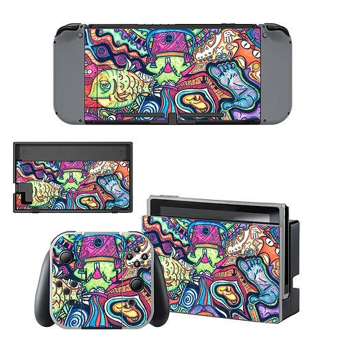 Nintendo Switch Skin ''Trippin''
