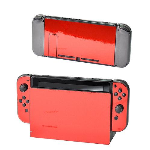 Nintendo Switch Skin ''Chrome Red''