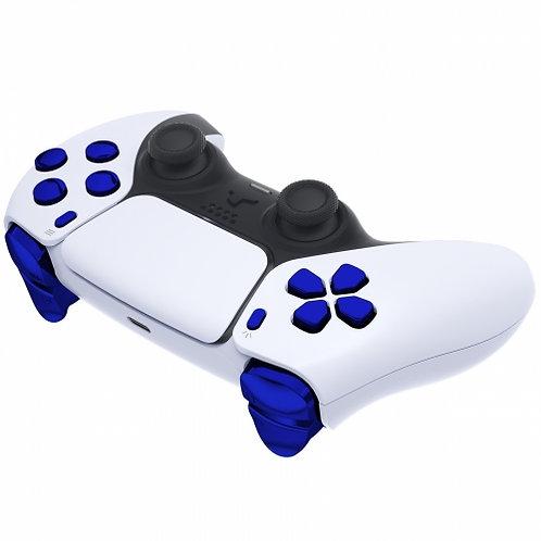 Ps5 Controller Knöpfe Set ''Chrom Blue''