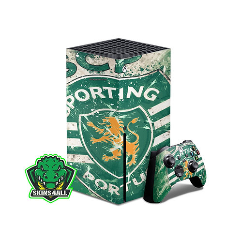 Xbox Series X Skin ''Sporting''