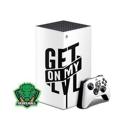Xbox Series X Skin ''LVL''