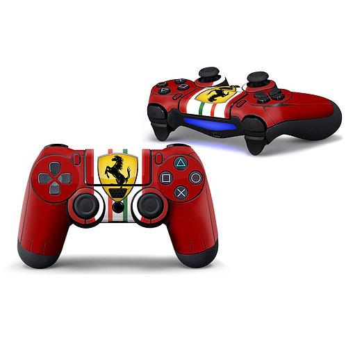 Playstation 4 Controller Skin ''Ferrarista''