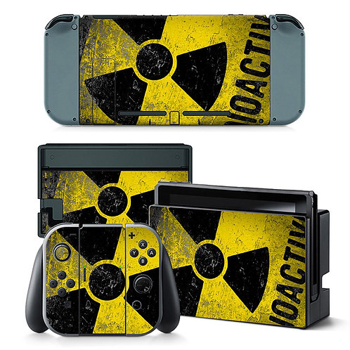 Nintendo Switch Skin ''Radioactive''