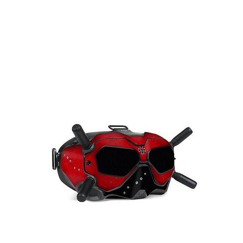 Dji FPV Goggles V2 Skin ''Red' Baron''