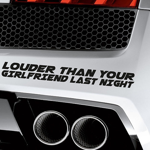 Louder Stickers