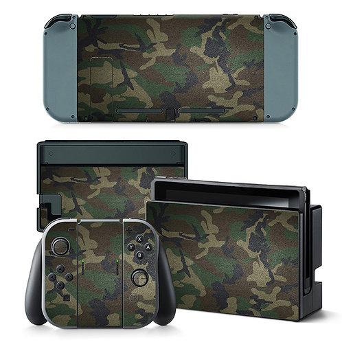 Nintendo Switch Skin ''Army''