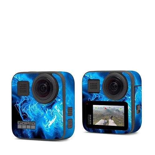 GoPro Max Skin ''Blue Flames''