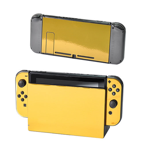 Nintendo Switch Skin ''Gold Chrome''