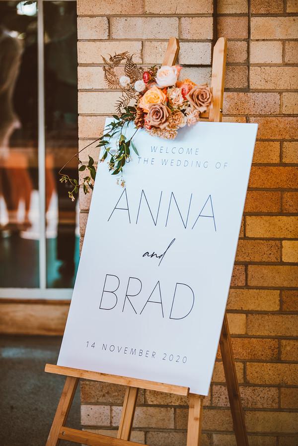 Anna & Brad Wedding 2020