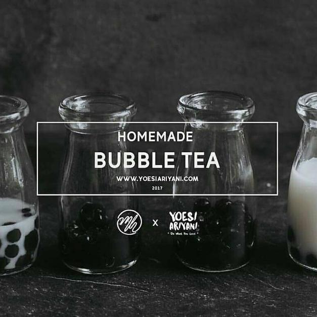 homemade bubble tea by @yoear