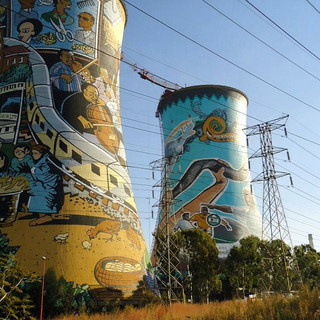"""""""Art Meets Industry"""" - Soweto, South Africa"""