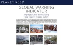 Global Warmer Indicator Page