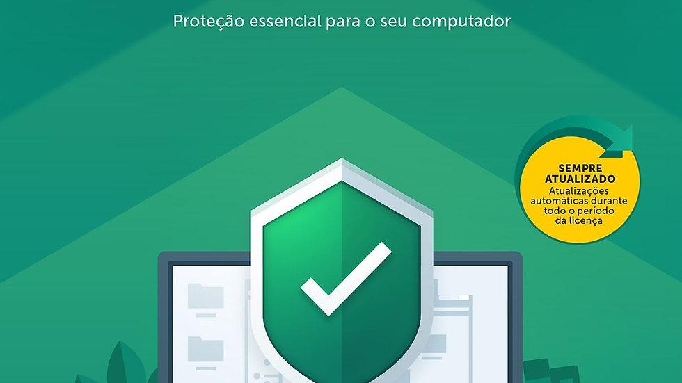 Kaspersky Anti-Virus - 1 Dispositivo por 1 Ano
